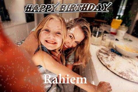 Happy Birthday Rahiem
