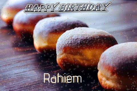 Birthday Images for Rahiem