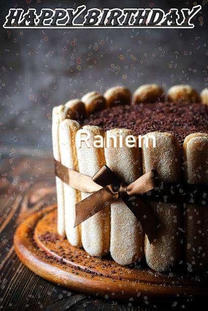 Rahiem Birthday Celebration