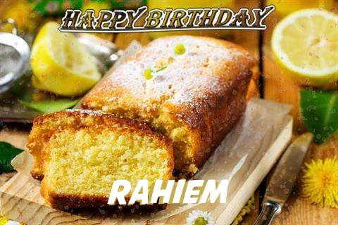 Happy Birthday Cake for Rahiem