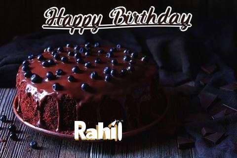 Happy Birthday Cake for Rahil