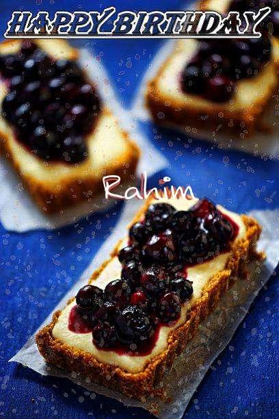 Happy Birthday Rahim