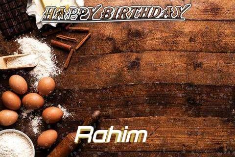 Birthday Images for Rahim
