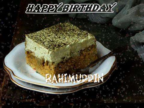 Rahimuddin Birthday Celebration
