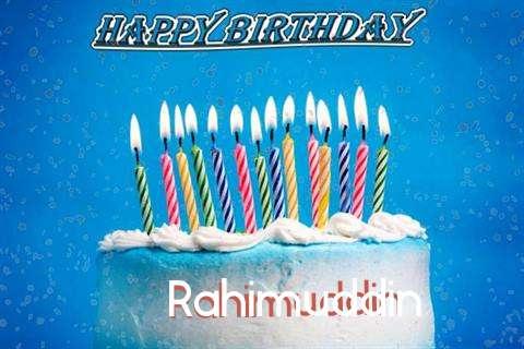 Happy Birthday Cake for Rahimuddin