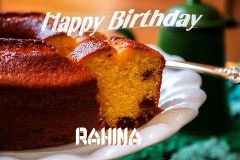 Happy Birthday Wishes for Rahina