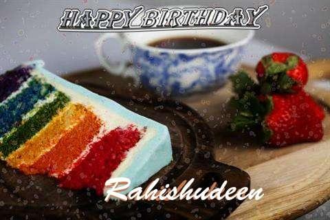 Happy Birthday Wishes for Rahishudeen