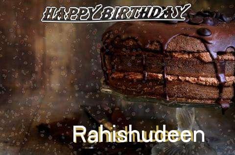 Happy Birthday Cake for Rahishudeen