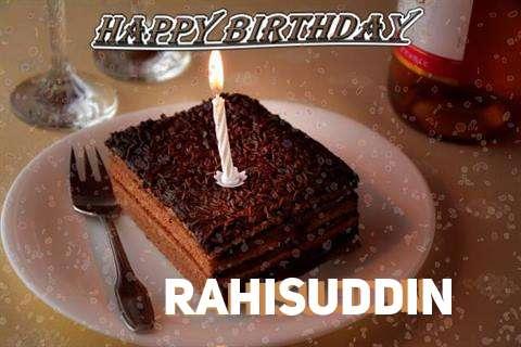 Happy Birthday Rahisuddin