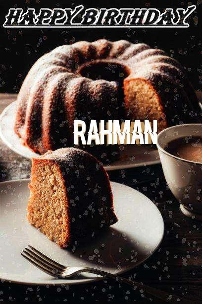 Happy Birthday Rahman