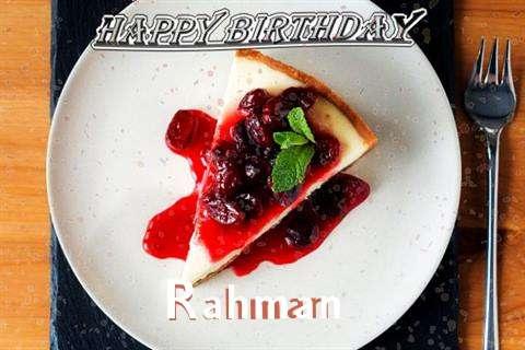 Rahman Birthday Celebration