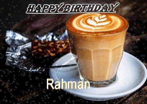 Happy Birthday to You Rahman