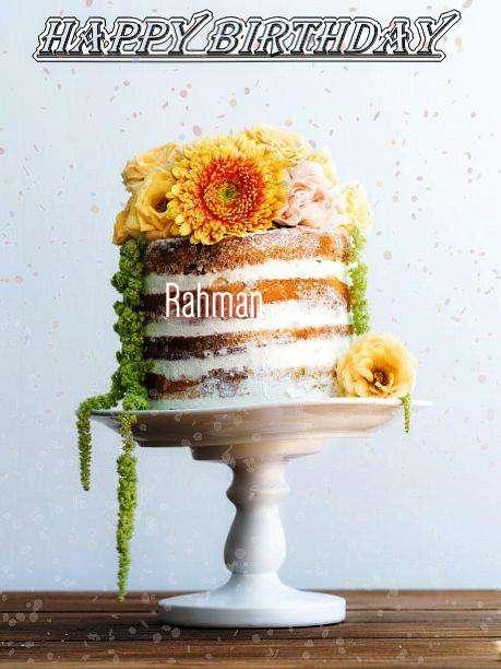 Rahman Cakes