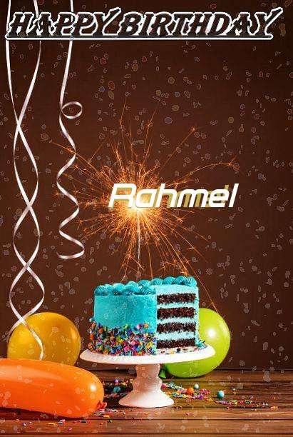 Happy Birthday Cake for Rahmel