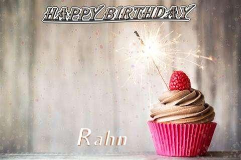 Happy Birthday to You Rahn
