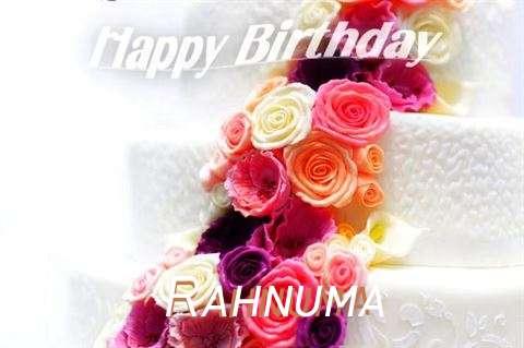 Happy Birthday Rahnuma