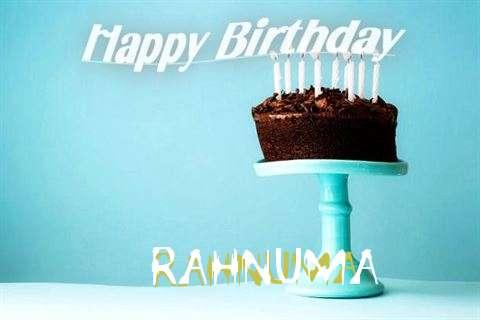 Birthday Wishes with Images of Rahnuma