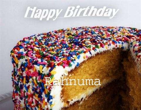 Happy Birthday Wishes for Rahnuma