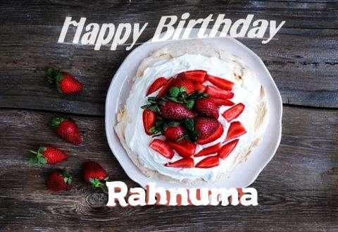 Happy Birthday to You Rahnuma