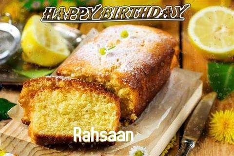 Happy Birthday Cake for Rahsaan