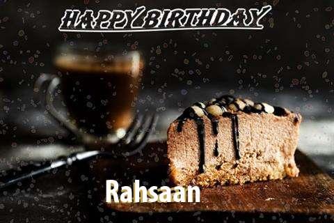 Rahsaan Cakes