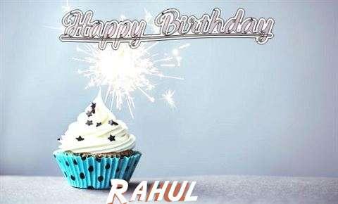Happy Birthday to You Rahul