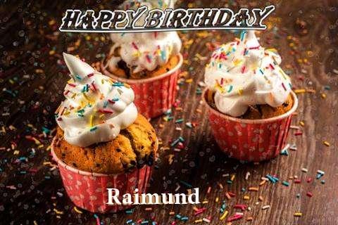 Happy Birthday Raimund Cake Image
