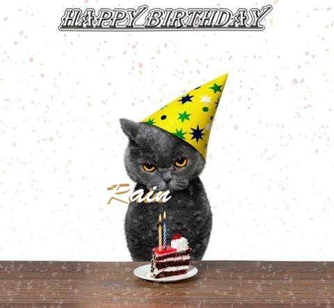 Birthday Images for Rain