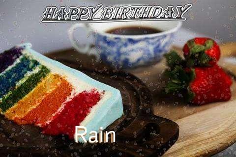 Happy Birthday Wishes for Rain