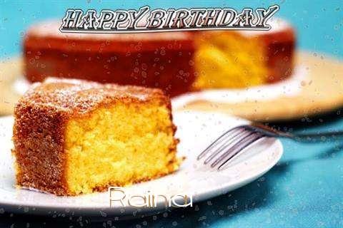 Happy Birthday Wishes for Raina