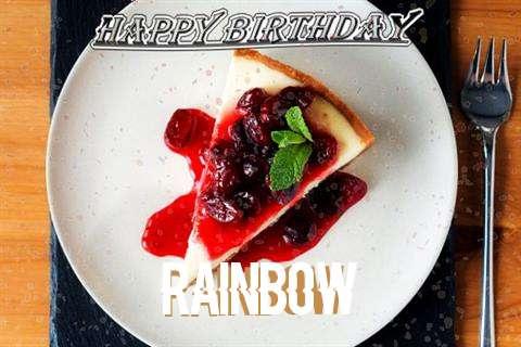 Rainbow Birthday Celebration