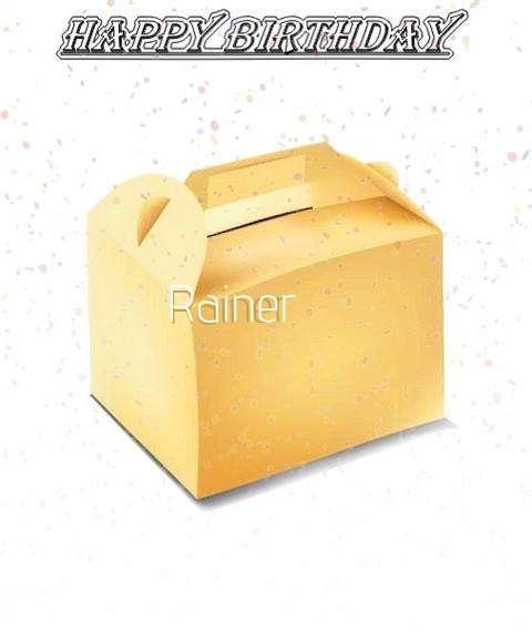 Happy Birthday Rainer