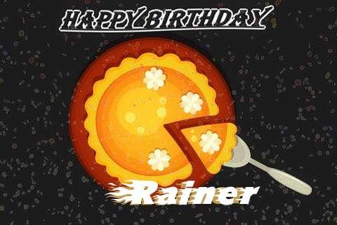 Rainer Birthday Celebration