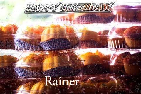 Happy Birthday Wishes for Rainer
