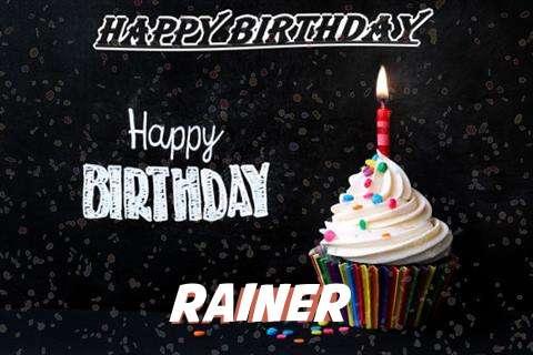 Happy Birthday to You Rainer