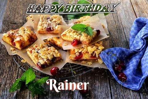 Happy Birthday Cake for Rainer