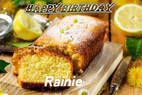 Happy Birthday Cake for Rainie