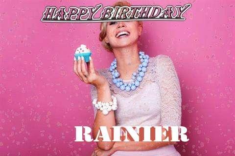 Happy Birthday Wishes for Rainier