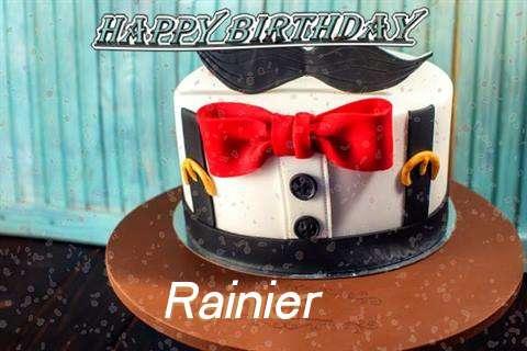 Happy Birthday Cake for Rainier