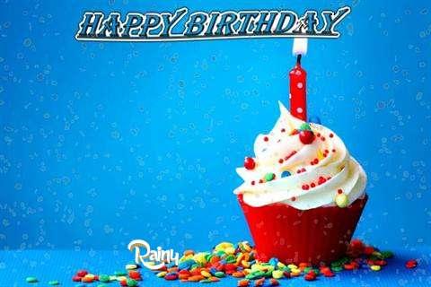 Happy Birthday Wishes for Rainy