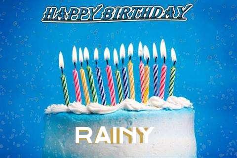 Happy Birthday Cake for Rainy