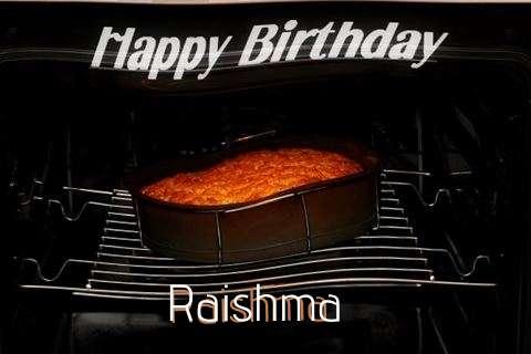 Happy Birthday Raishma Cake Image