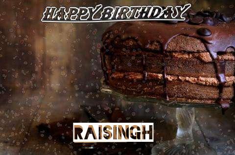 Happy Birthday Cake for Raisingh