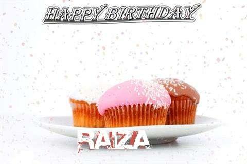 Birthday Wishes with Images of Raiza