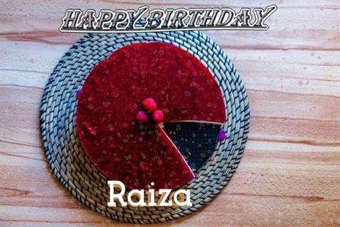 Happy Birthday Wishes for Raiza