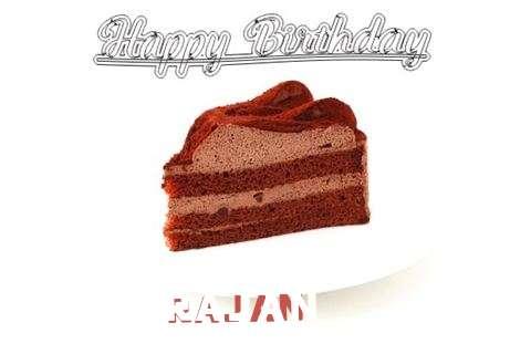 Happy Birthday Wishes for Rajan