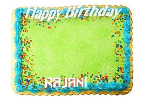 Happy Birthday Rajani Cake Image