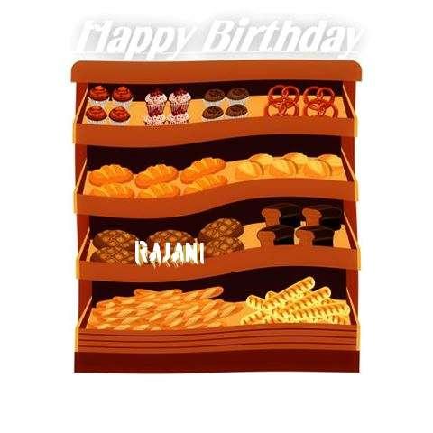 Happy Birthday Cake for Rajani