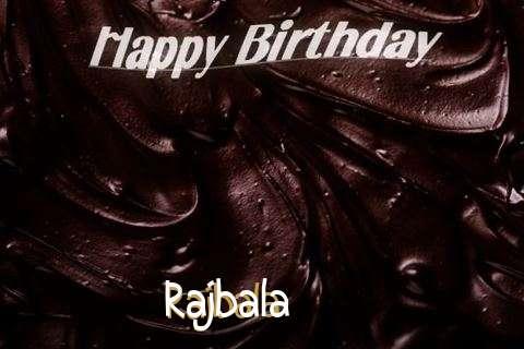 Happy Birthday Rajbala Cake Image