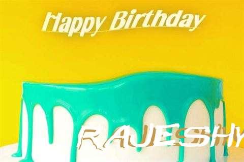 Happy Birthday Rajeshwari Cake Image